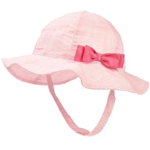 e3a82ac7563 Image Unavailable. Image not available for. Color  Toddler Baby Girls Sun  Hats for Summer Sun Protection Beach Hat for Kids ...