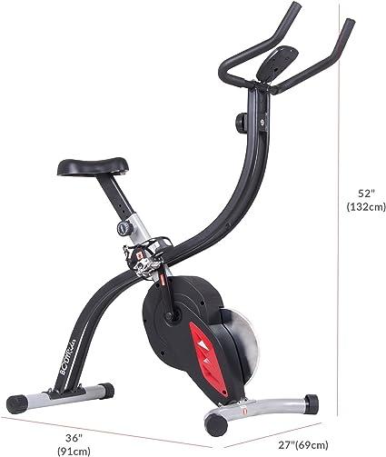 Body Rider Pro X Plegable Vertical Ejercicio Ciclo de la Bicicleta ...
