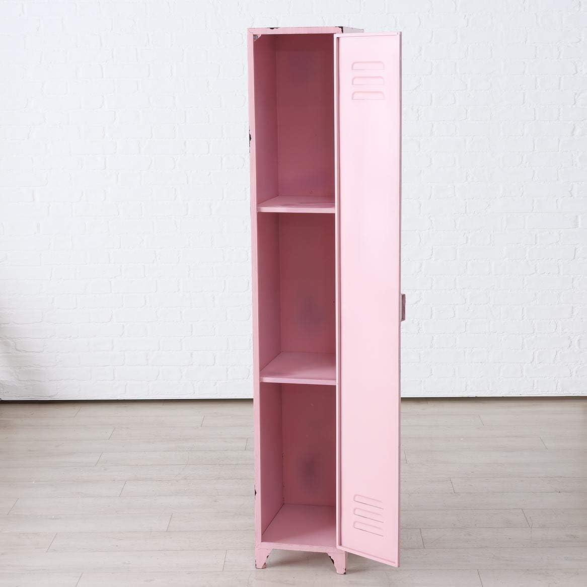 Immo Genialer Spind Schrank Pink Umkleide Schrankchen Metall Rosa