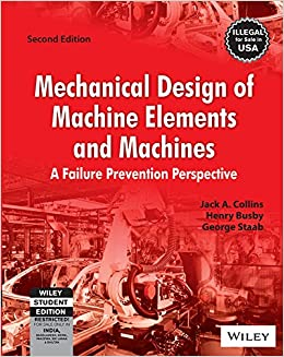 Book Mechanical Design of Machine Elements and Machines