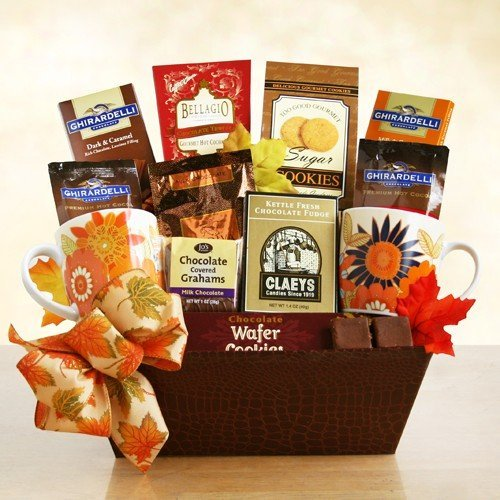 A Fall Dream! Ghirardelli Chocolate Fall Themed Gift Basket