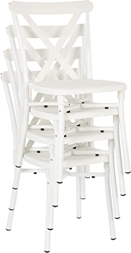 Office Star X-Back Guest Stacking Chair