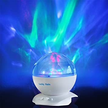 Aurora Borealis Night Light Projector with Music Player LED Color Changing Projection L& Relaxing Sleep Soother & Amazon.com: Aurora Borealis Night Light Projector with Music ... azcodes.com