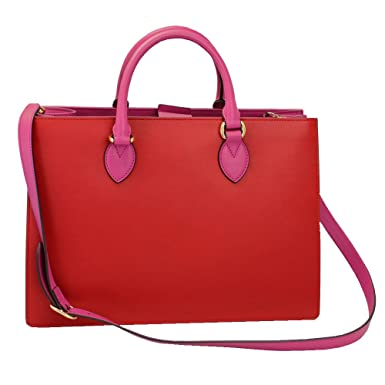 98bf219ecf747 Image Unavailable. Image not available for. Color  Gucci Red   Pink Tote Bag  ...