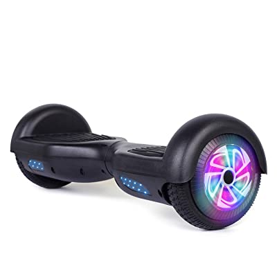 "TST 6.5"" Self-Balancing Electric Scooters, 2 Wheels Self Balancing Hoverboard, with Bluetooth, LED Light Hoverboard for Kids and Adults: Sports & Outdoors"