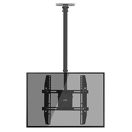 Porta Tv Da Soffitto.Supporto Tv Simbr Staffa Tv Da Soffitto Ideale Per Tv 22 55 Max Vesa 400x400mm Plasma Lcd Led Carico Massimo 50kg