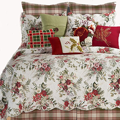 Jardin Rouge Twin Quilt by April (Jardin Duvet)
