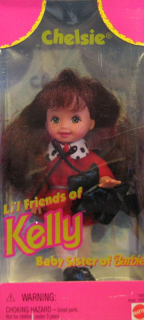 Barbie CHELSIE Doll Li'l Friends of Kelly (1997)