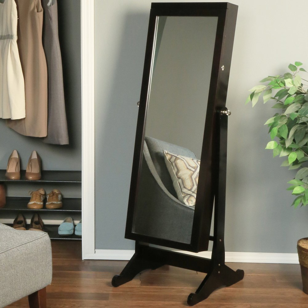 Amazon.com: Richards Homewares Jewelry Armoire with LED: Home ...