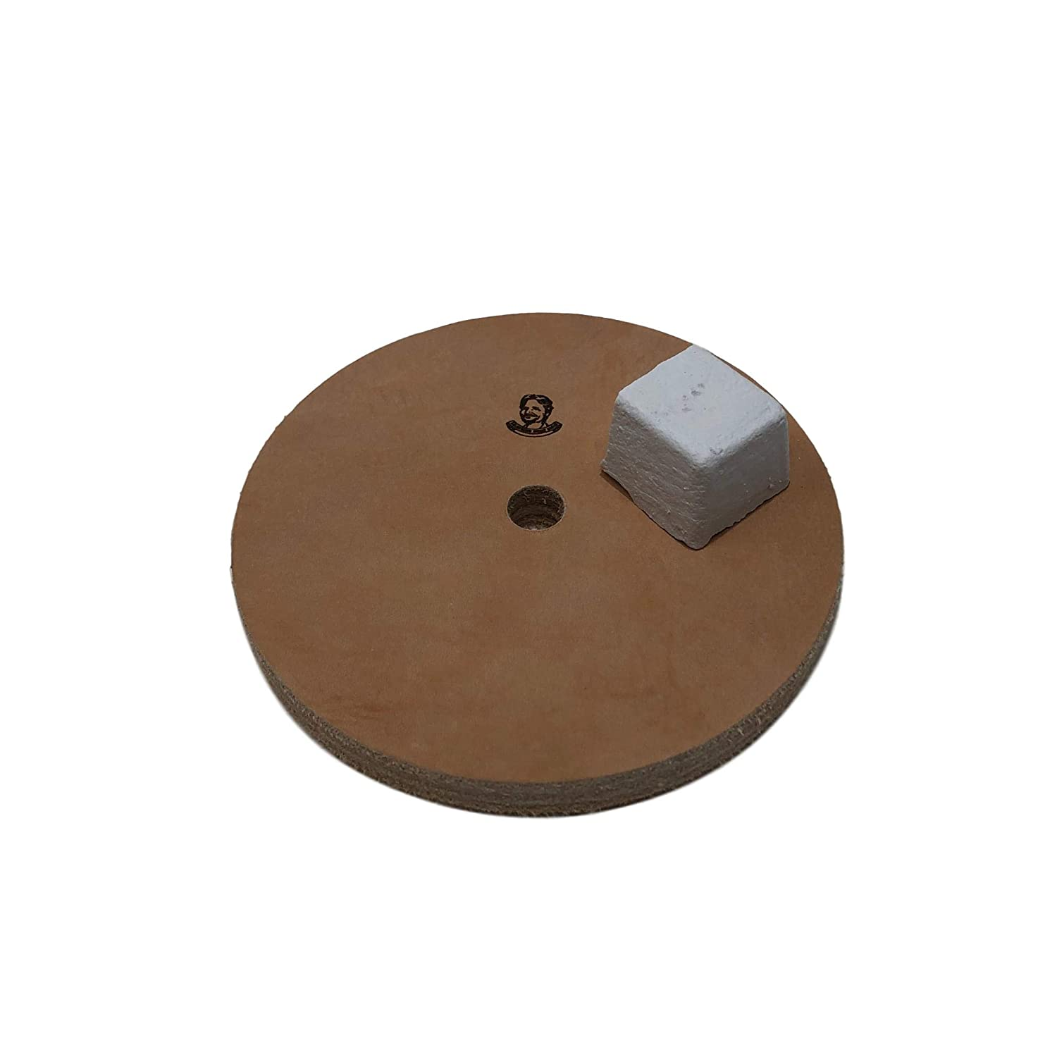 Leather Honing Wheel Buffing Compound Included 1//2 Width 5 Fits 1//2 Arbor