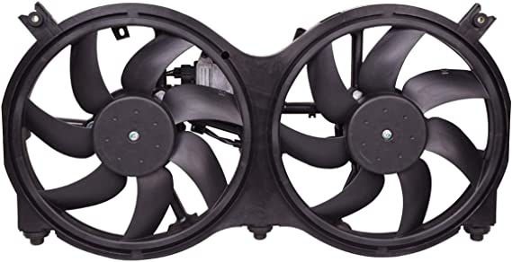 Brand New Radiator /& Condenser Fan For Nissan Pathfinder Infiniti QX60 NI3115149