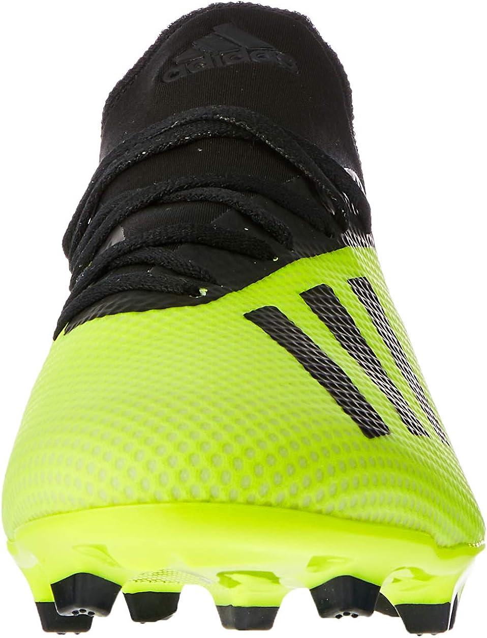 adidas X 18.3 FG, Chaussures de Football Homme Jaune Amasol Negbás Ftwbla 001