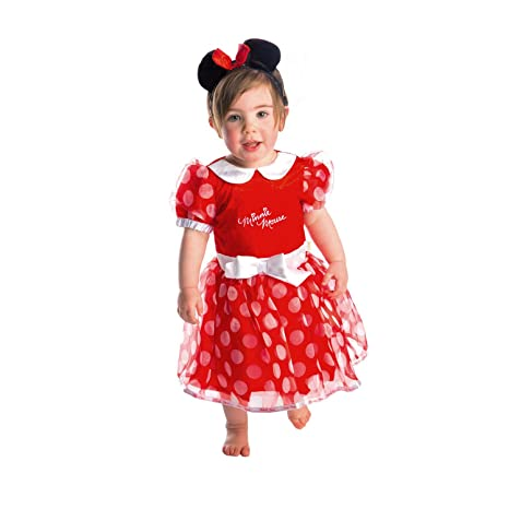 2a14e719ae6e BIGIEMME Costume Minnie con Tiara Tg 12-18 mesi: Amazon.it: Giochi e ...