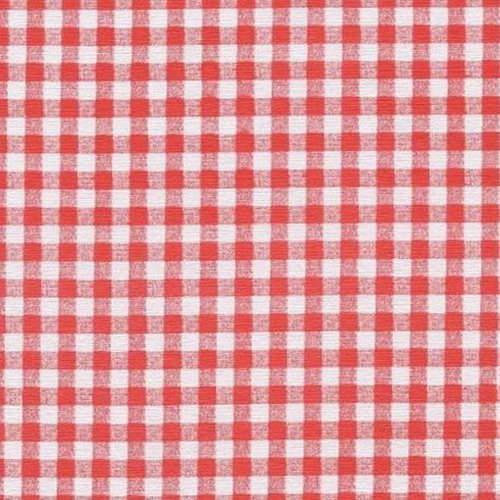 Red Gingham Series F0250 Vinyl Tablecloth 54