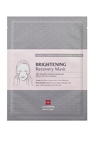 Leaders Insolution Brightening Recovery Mask 10Pk