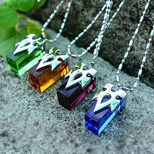 Generic-Onecos-Sword-Art-Online-SAO-Metastasis-Crystal-Necklace-Blue