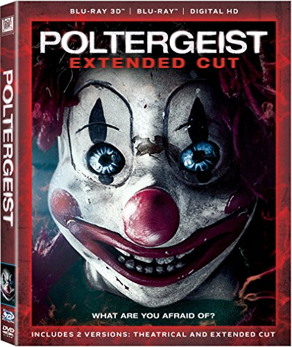 Blu-ray 3D : Poltergeist (Widescreen, Digitally Mastered in HD, Digital Theater System, Dubbed, )