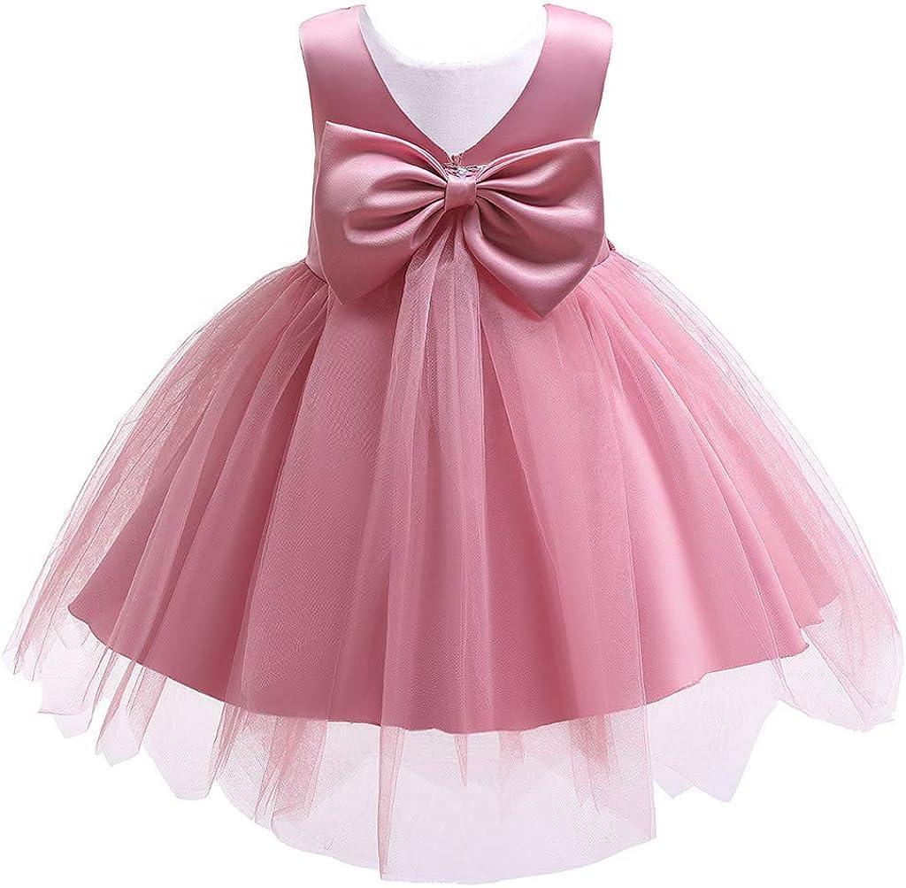 Swiusd 5-5T Toddler Child Baby Girls Church Wedding Party Dresses