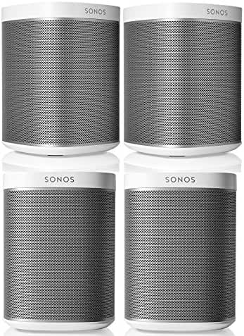Sonos PLAY:1 Multi-Room Digital Music System Bundle (4 - PLAY:1 Speakers) - White