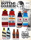 "1 X ""I Love Beer"" Knit Bottle Cozy (Blue/White/Green)"