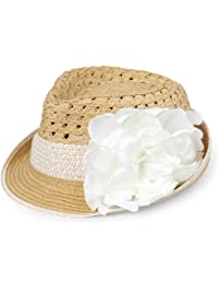 83bf8744405 The Children s Place Baby Girls Novelty Flower Sun Hat