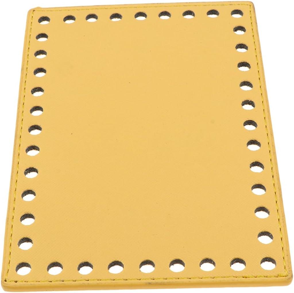 F Fityle Kunstleder Einlegeboden Baseshaper Bag Shaper Taschenboden in verschiedenen Farben und Gr/ö/ßen