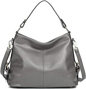 Amazon Giveaway HAOSHIDUO Women Leather Shoulder Handbags...