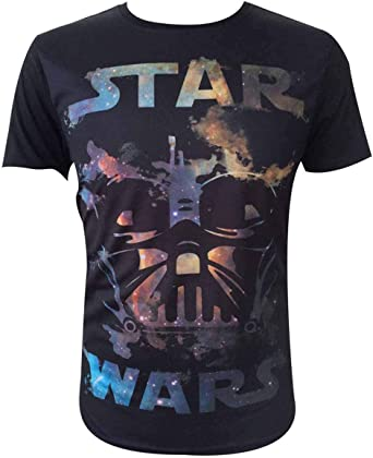 Star Wars Darth Vader All-Over Camiseta para Hombre: Amazon.es: Ropa y accesorios