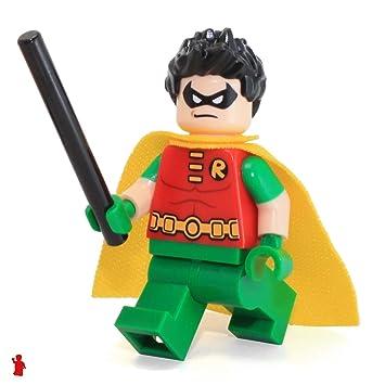 Heroes Comics Titan Robin76035By Dc Lego Minifigure Super Teen ynONm0wv8