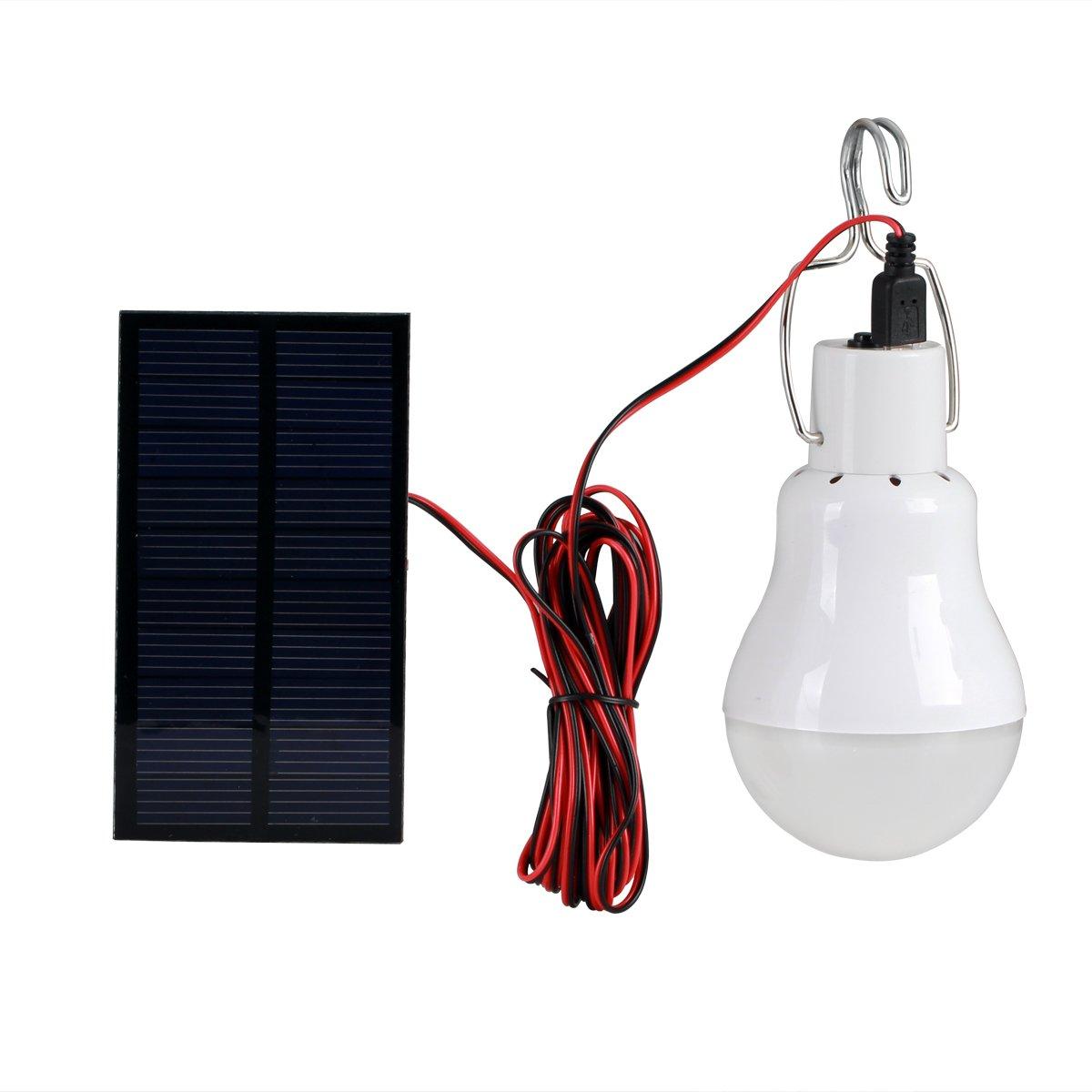 Solar Lights, Solla LED Camping Emergency Light Lantern Bulb with ...