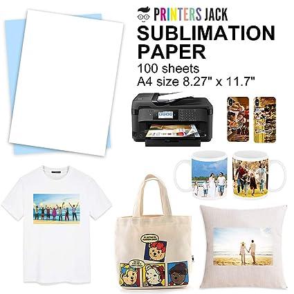 Sublimation Paper Heat Transer Paper 100 Sheets 8 5