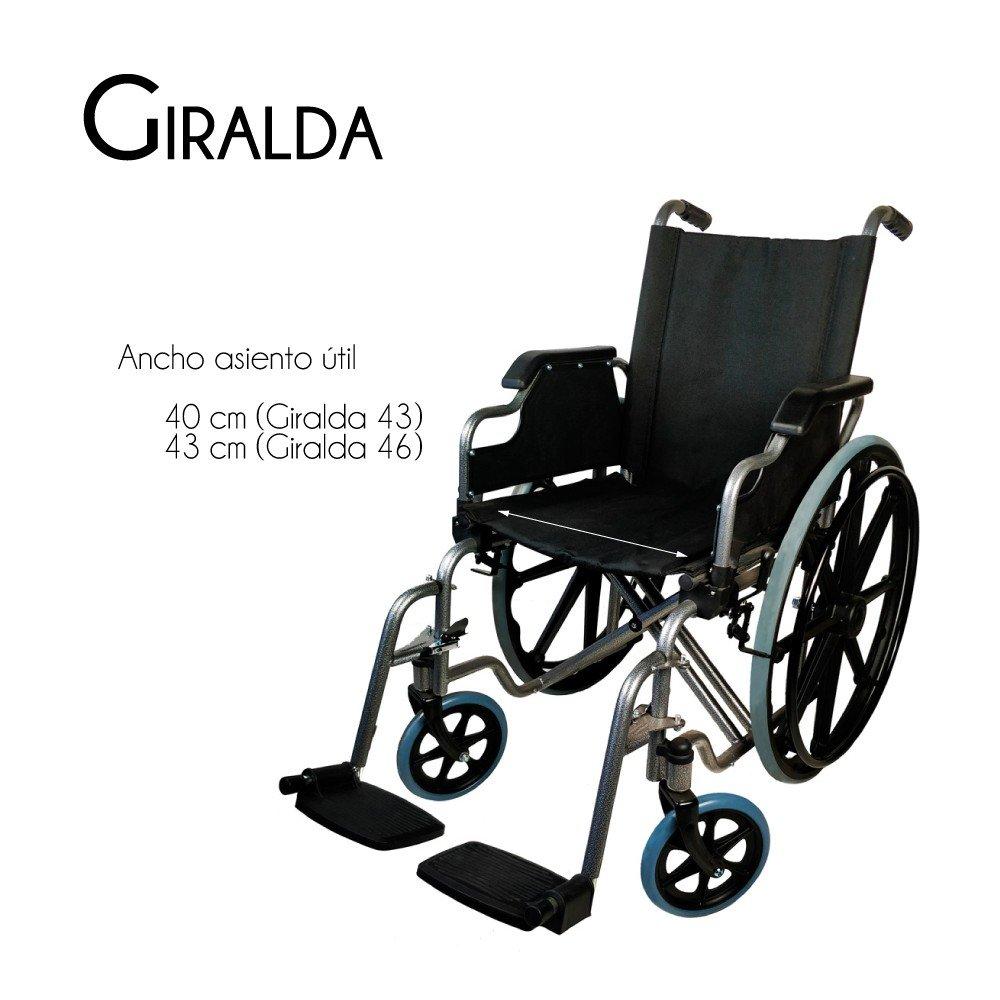 Mobiclinic, modelo Giralda, Silla de ruedas plegable, ortopédica ...