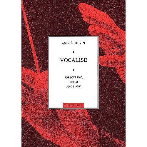 Cello Soprano - Vocalise for Soprano, Cello and Piano Music Sales America Series Pack of 2