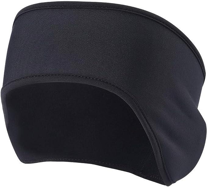 2 Pack Winter Fleece Ear Muff Sweatband Headwear Running Ski Ear Warmer HeadBand