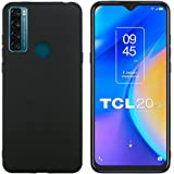 Misd Compatible with TCL 20 SE case, [Scratch-Resistant, Shock-Absorbing and Anti-Fall] Slim Soft and Comfortable, TPU Protec