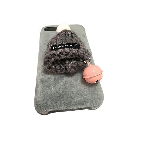 Funda iPhone 7 PLus,Aliyao Sombrero Peludo de Navidad ...