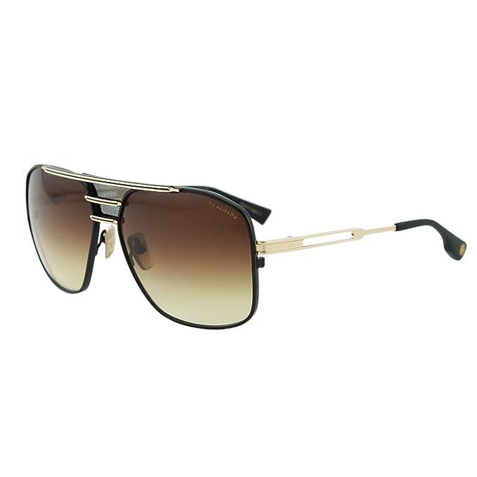 31332bd2c851 DITA Armada Men DRX-2045-B Gold   Black Titanium Japan Aviator Sunglasses  62mm  Dita  Amazon.ca  Clothing   Accessories