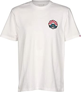 Element EA Japan Hombre Camiseta T-Shirt Hombre Camiseta T-Shirt Bone White S: Amazon.es: Ropa y accesorios