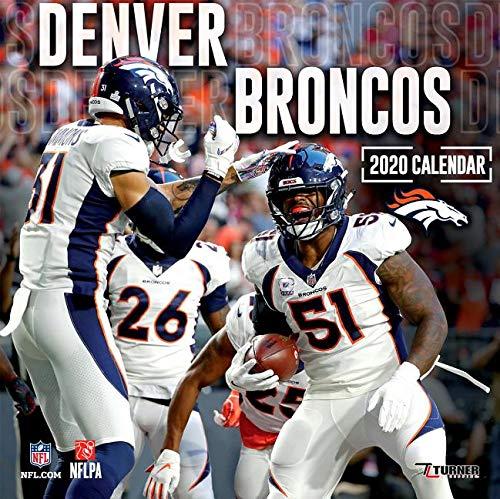 Denver Broncos 2020 Calendar