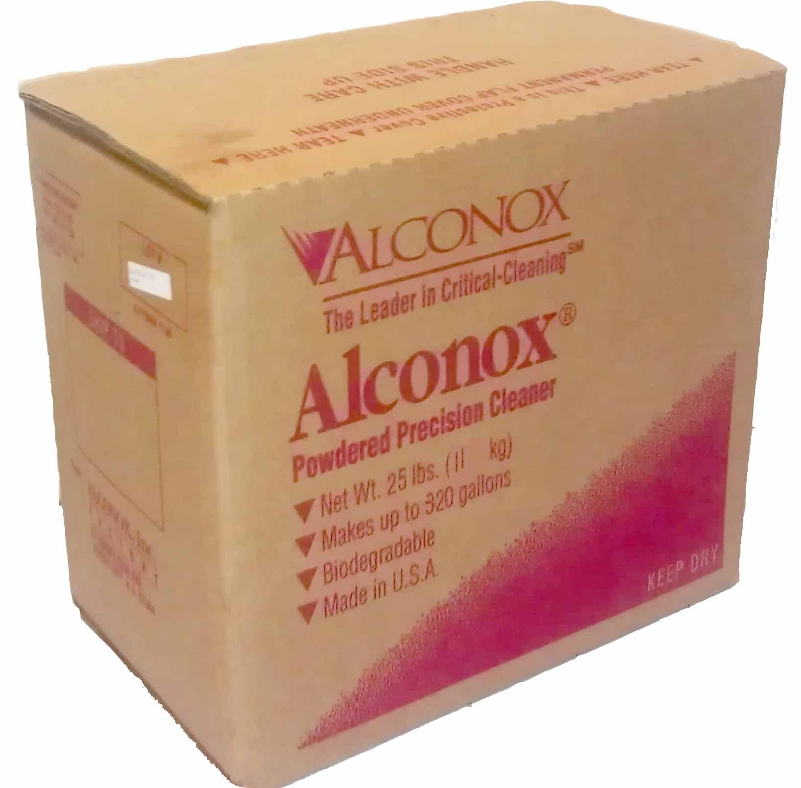 Alconox 1125 Powdered Precision Cleaner, 25lbs Box