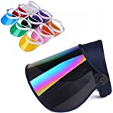UV Sun Visor for UV Protection Hat UV Sun Cap Adjustable Angle with Color Cover