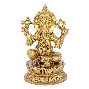 Buy Vedic Vaani Ekadanta - Vighnaharta Ganpati Ganesha God Idol, Statue,  Buy Online| Hindu God Ganesha Idol Ganpati Statue Sculpture|Vighnaharta Ganpati  Ganesha Idol Online at Low Prices in India - Amazon.in