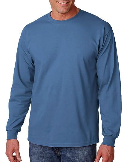 Gildan - Camiseta para Adulto Ultra algodón Manga Larga (G2400 ... 81a217bf382