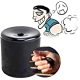 VANTIYAUS New Create Smart Gadget Farting Sounds Funny Squeeze Fake Fart Pooter Gag Peace Joke Machine Party (Black)
