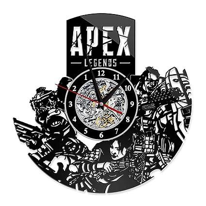 Amazon Com Apex Legends Wall Clock Vinyl Record Clock Home