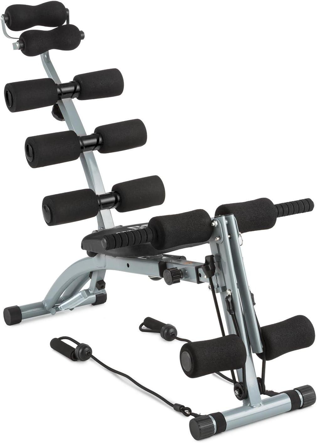 CapitalSports Capital Sports Sixish Core Maquina Multitrainer de Vientre con Multifunción
