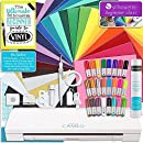 Silhouette Cameo 3 Bluetooth Starter Bundle with 24 Oracal 651 Sheets, Transfer Paper, Guide, Class, 24 Sketch Pens (24 sheets)