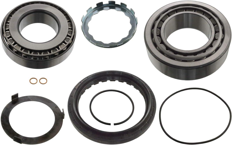 Pack of 1 febi bilstein 11598 wheel bearing kit front axle both sides