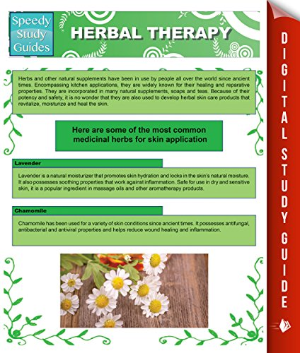 Herbal Therapy (Speedy Study Guides)