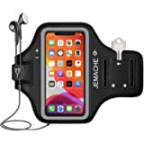 iPhone 12, 12 Pro, 11 Pro, X, XS Armband, JEMACHE Water Resistant Gym Running Workouts Arm Band Case for iPhone X/XS/11…